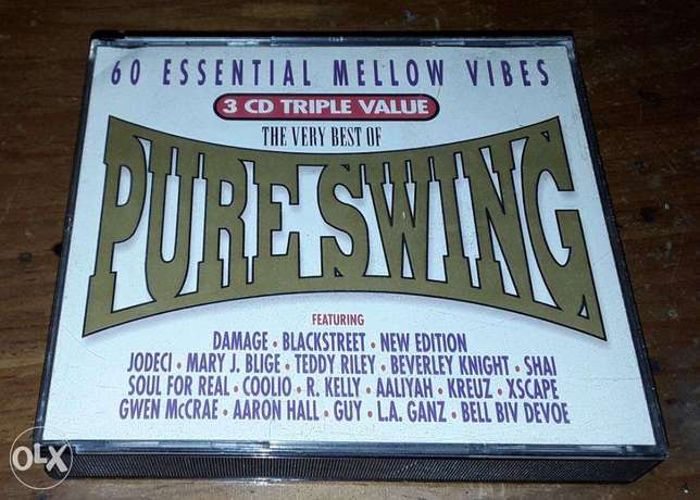 The very best of Pure Swing 3 CD box