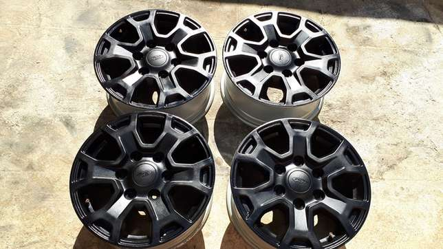 Ford Ranger 16inch Black Coated Rims Cosmo City - image 2