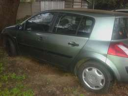 Renault megane for sale. Does not start. As is.