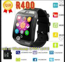 Brand new q18s smart watches. R400