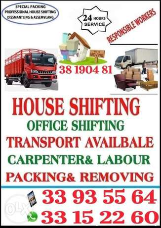 House Villa Flat Office & Apartment Shifting Transport available