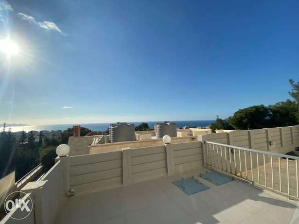 A Fully furnished 3 Bedroom Apartment for rent in Aoukar with Sea View