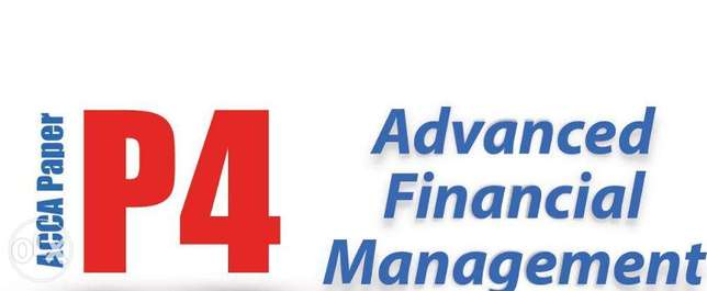 Private ACCA PAPER P4, F9 and ICAN SFM Tutor Lagos Mainland - image 1
