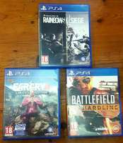 Ps4 games for R300.00 each