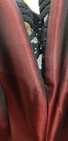 961ca8246d Rozkloszowana sukienka MIDI Bordowa z dekoltem Studniówka wesele 34 Gorzów  Wielkopolski - image 2