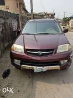 Strong Acura MDX 02 Model For Sale