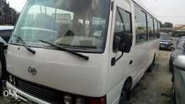 2008 Toyota coaster bus with factory chilling AC