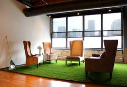 Astroturf as a rug for VIP lounge indoor or outdoors