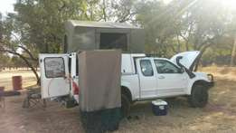 Camper travel top canopy