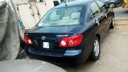Super clean Direct tokunbo toyota corolla