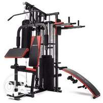 High Strength 3 Station Gym For General Body Fitness