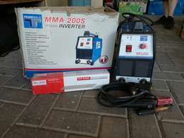 Tradwell Inverter with box of Afrox rods