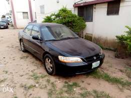 Barely used Honda accord 2000 model