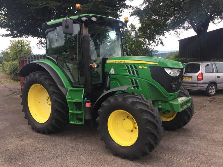 John Deere 6105 R Powerquad Plus 4wd - 2014