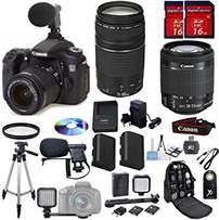 Canon EOS 70D DSLR Camera Digideals Video Bundle