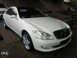 Super sharp foreign used 2008 Mercedes-Benz S550 for sale