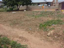 70 by 100 piece of land for sale at kasoa toll both