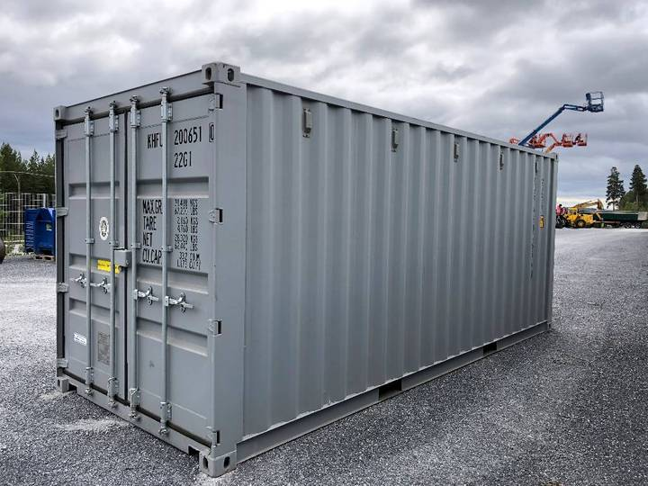 Container 20fots Nya Grå - 2018