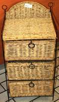 Small Cane Chest Of Drawer S023851B