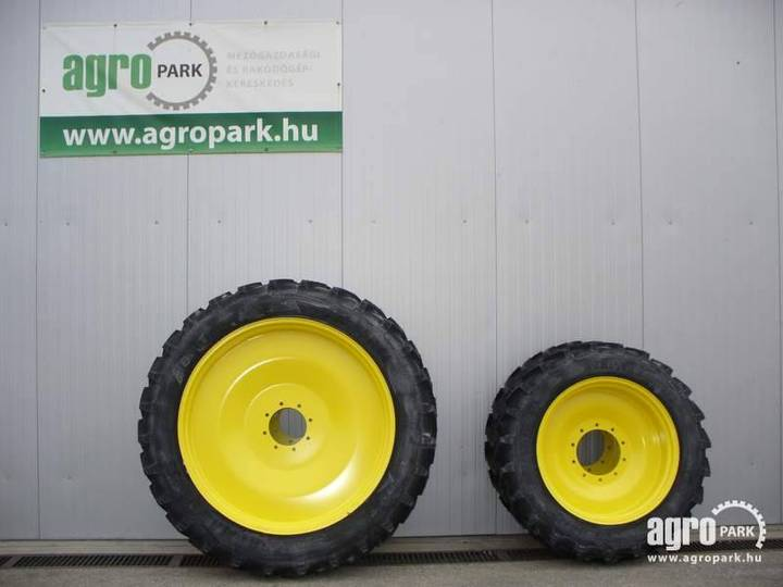 Alliance New Row Crop Wheel Set 11.2r36 And 13.6r48 For 6 C