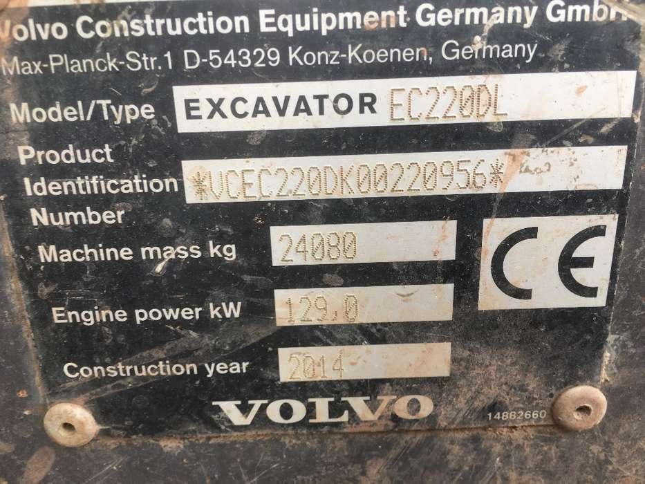 Volvo Ec220 Dl - 2014 - image 10