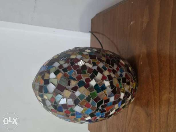 Coulrful lamp .