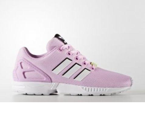 Buty adidas ZX Flux J BY9826 różowe damskie r. 36,36.5,37