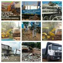 Giby rubble removals in Johannesburg