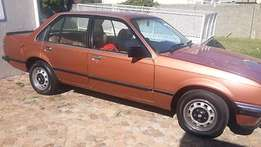 Opel Rekord 2.0 in good daily use, NEW lic and tyres