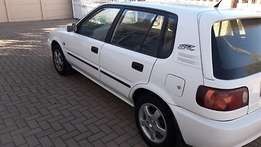 004 Toyota Tazz 1300for sale R12000