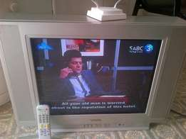 Sansui Flatview 54 cm TV with remote call me in Bloemfontein bargain