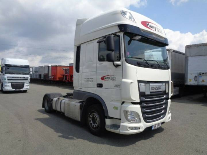 DAF XF 460 FT SSC LOW DECK EURO 6 - 2014