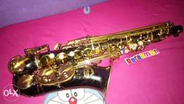 Nearly used Artemis alto sax is up for grab
