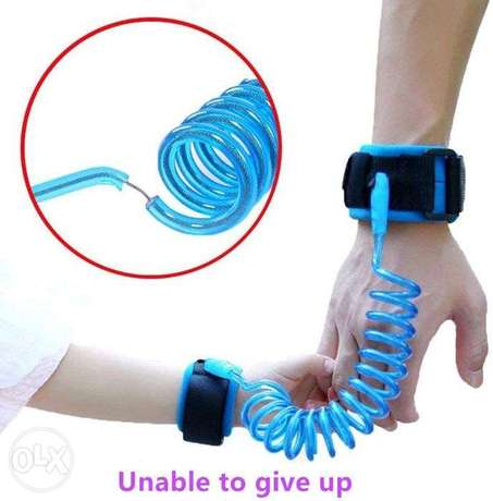 Anti Lost Wrist Link Belt Baby Toddler Reins Safety Leash Wristband