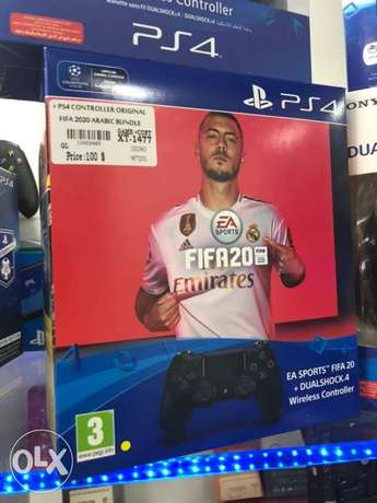 Fifa 2020 Arabic Edition Bundle with Controller