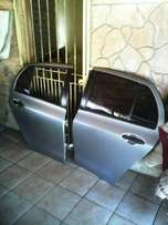 Toyota yaris T1/T3 4 door hatch back rear doors for sale...