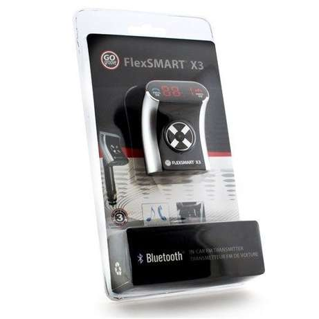 Bluetooth Car Adapter GOgroove FlexSMART Phone H/Free FM Transmitter Nairobi CBD - image 1