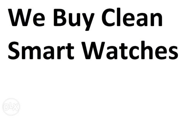 Buy Apple watches,samsung watches and any smart watch