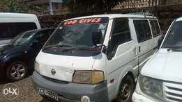 Nissan vannette in good condition