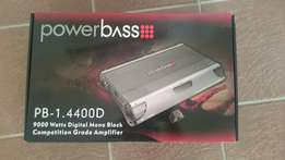 Powerbass 9000w monoblock amp for sale