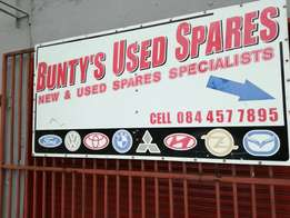Bunty's used spares