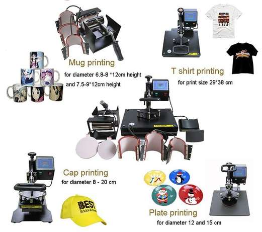 Automatic 3D/ 5 in 1 Heat Press Machine Nairobi CBD - image 4