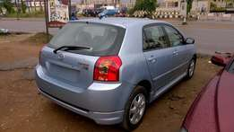 Very Clean Tokunbo Toyota Corolla hatch back 06 manual