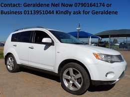 2007 Mitsubishi Outlander 2.4 GLS A/T 4WD Very Good Condition Call Now