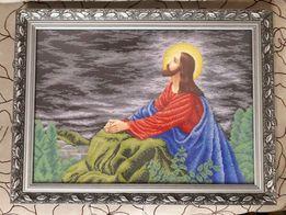 Вишивка бісером. Вышивка бисером. Ікона. Образ. Ісус на оливковій горі 33310cc2ff68a