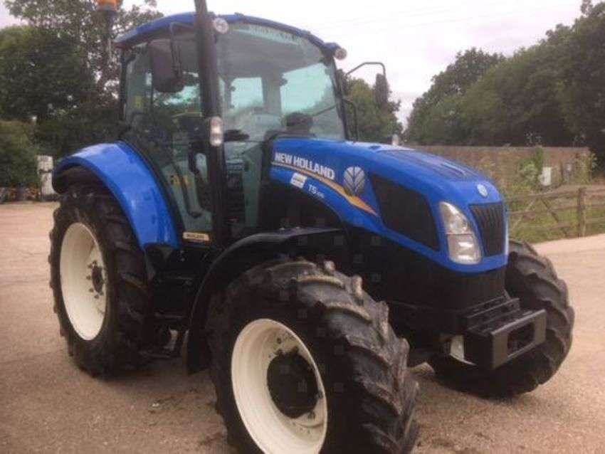 New Holland t5.105 deluxe - 2013 - image 3