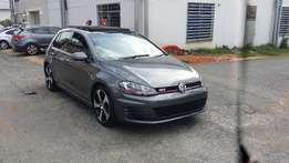 2015 Golf 7 2.0Gti Comfort line,sunroof,automatic,leather interior