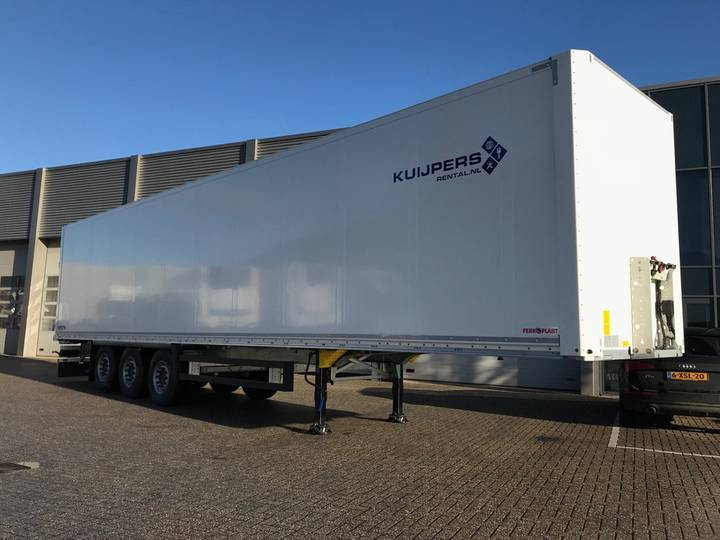 Schmitz Cargobull 3-Assige Boxtrailer / 2019 - 2019