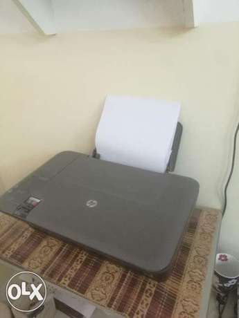 Hp printer color wit scanner for 6rial no cartidge