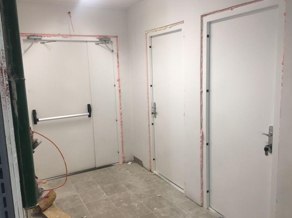 Двери противопожарные металлические Шеино